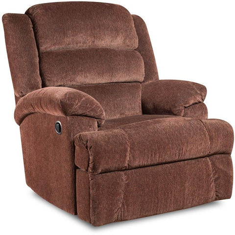 Flash Furniture AM-9960-7921-GG Big and Tall 350 lb. Capacity Aynsley Claret Microfiber Recliner - Peazz Furniture