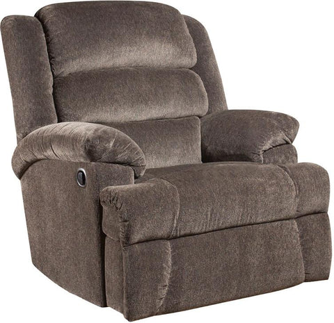 Flash Furniture AM-9960-7922-GG Big and Tall 350 lb. Capacity Aynsley Charcoal Microfiber Recliner - Peazz Furniture