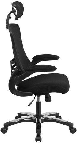 flash furniture bl x 5h gg high back black mesh executive swivel offic