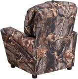 Flash Furniture BT-7950-KID-CAMO-GG Contemporary Camouflaged Fabric Kids Recliner with Cup Holder - Peazz Furniture - 3