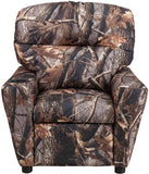Flash Furniture BT-7950-KID-CAMO-GG Contemporary Camouflaged Fabric Kids Recliner with Cup Holder - Peazz Furniture - 4