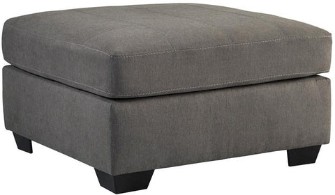 Flash Furniture FBC-2349OTT-CRC-GG Benchcraft Maier Oversized Accent Ottoman in Charcoal Microfiber - Peazz Furniture