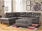Flash Furniture FSD-2399LFSEC-GRY-GG Signature Design by Ashley Alliston Sectional with Left Side Facing Chaise in Gray DuraBlend - Peazz Furniture - 2
