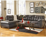 Flash Furniture FSD-2399LFSEC-GRY-GG Signature Design by Ashley Alliston Sectional with Left Side Facing Chaise in Gray DuraBlend - Peazz Furniture - 3