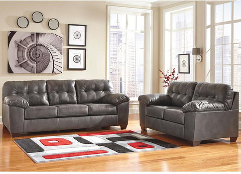 Flash Furniture FSD-2399SET-GRY-GG Signature Design by Ashley Alliston Living Room Set in Gray DuraBlend - Peazz Furniture - 1