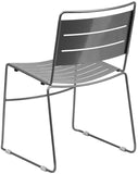 Flash Furniture HA-1-SIL-GG HERCULES Series Silver Indoor-Outdoor Metal Stack Chair - Peazz Furniture - 3