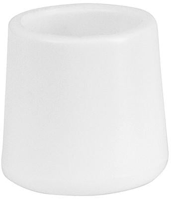 Flash Furniture LE-L-3-WHITE-CAPS-GG White Replacement Foot Cap for Plastic Folding Chairs - Peazz Furniture