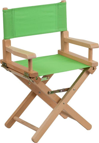 Flash Furniture TYD03-GN-GG Kid Size Directors Chair in Green - Peazz Furniture