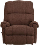 Flash Furniture WM-8700-544-GG Contemporary Couger Chocolate Chenille Rocker Recliner - Peazz Furniture - 4