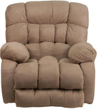 Flash Furniture WM-9200-532-GG Contemporary Softsuede Taupe Microfiber Rocker Recliner - Peazz Furniture - 4