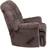 Flash Furniture WM-9745-435-GG Contemporary Hillel Pewter Chenille Rocker Recliner - Peazz Furniture - 2