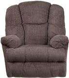 Flash Furniture WM-9745-435-GG Contemporary Hillel Pewter Chenille Rocker Recliner - Peazz Furniture - 4
