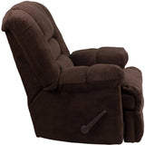 Flash Furniture WM-9830-800-GG Contemporary Dynasty Chocolate Microfiber Rocker Recliner - Peazz Furniture - 2