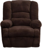 Flash Furniture WM-9830-800-GG Contemporary Dynasty Chocolate Microfiber Rocker Recliner - Peazz Furniture - 4