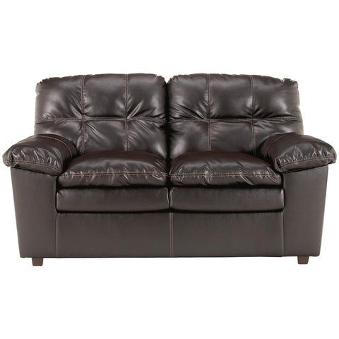 Flash Furniture FSD-2799LS-JAV-GG Signature Design by Ashley Jordon Loveseat in Java DuraBlend - Peazz Furniture