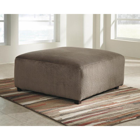 Flash Furniture FSD-6049OTT-DUN-GG Signature Design by Ashley Jessa Place Oversized Ottoman in Dune Fabric - Peazz Furniture