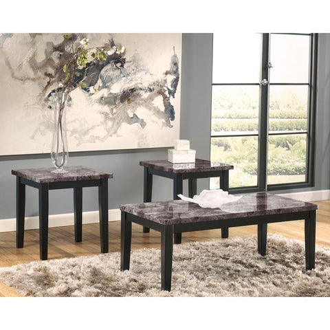 Flash Furniture FSD-TS3-43FM-GG Signature Design by Ashley Maysville 3 Piece Occasional Table Set - Peazz Furniture