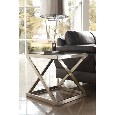 Flash Furniture FSD-TE-36BNK-GG Signature Design by Ashley Coylin End Table - Peazz Furniture