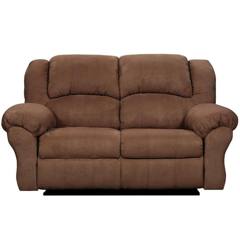 Flash Furniture 1002ARUBACHOCOLATE-GG Exceptional Designs Aruba Chocolate Microfiber Reclining Loveseat - Peazz Furniture