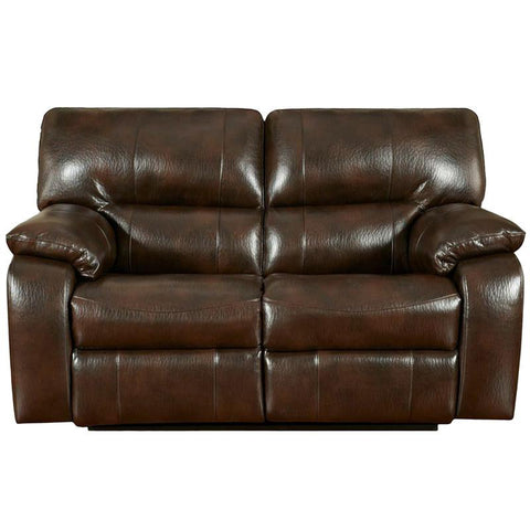 Flash Furniture 1302CANYONCHOCOLATE-GG Exceptional Designs Canyon Chocolate Leather Reclining Loveseat - Peazz Furniture