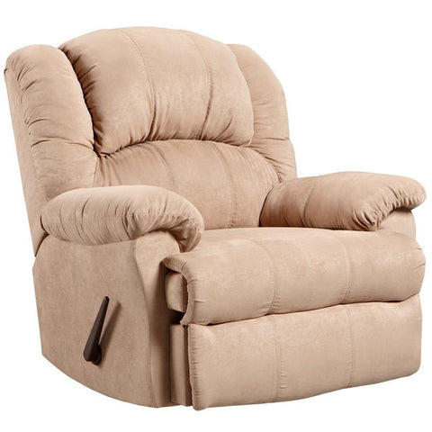 Flash Furniture 2001SENSATIONSCAMEL-GG Exceptional Designs Sensations Camel Microfiber Rocker Recliner - Peazz Furniture