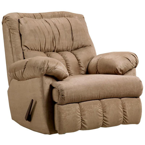 Flash Furniture 2500SENSATIONSCAMEL-GG Exceptional Designs Sensations Camel Microfiber Rocker Recliner - Peazz Furniture
