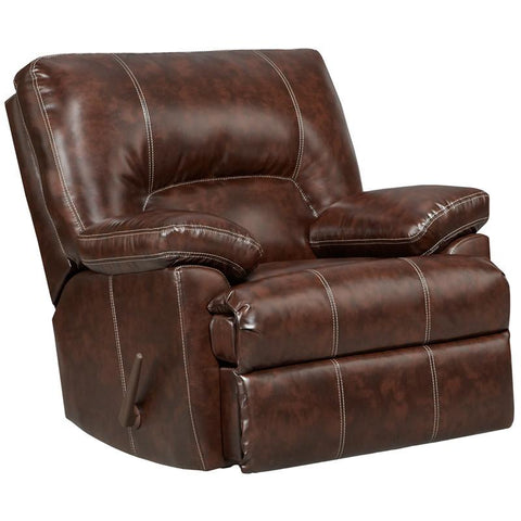 Flash Furniture 2800CHEYENNECAFE-GG Exceptional Designs Cheyenne Cafe Leather Rocker Recliner - Peazz Furniture