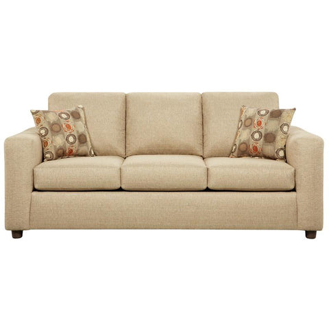 Flash Furniture 3603VIVIDBEIGE-GG Exceptional Designs Vivid Beige Fabric Sofa - Peazz Furniture