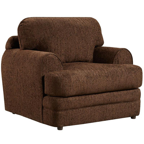 Flash Furniture 4651CALIBERWALNUT-GG Exceptional Designs Caliber Walnut Chenille Chair - Peazz Furniture