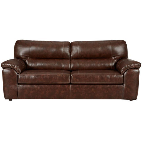 Flash Furniture 4903CHEYENNECAFE-GG Exceptional Designs Cheyenne Cafe Leather Sofa - Peazz Furniture