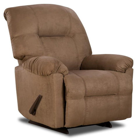 Flash Furniture AM-CP9350-2600-GG Contemporary Calcutta Camel Microfiber Power Chaise Recliner - Peazz Furniture