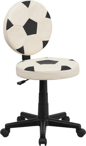 Soccer Task Chair BT-6177-SOC-GG by Flash Furniture - Peazz Furniture