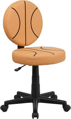 Basketball Task Chair BT-6178-BASKET-GG by Flash Furniture - Peazz Furniture