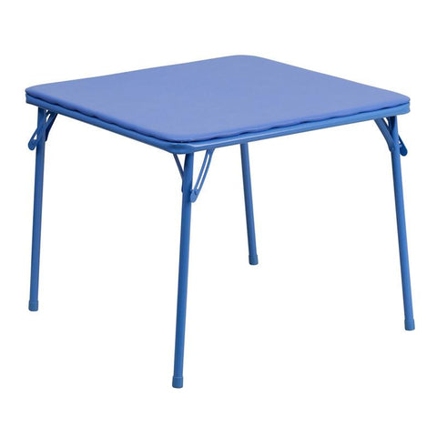 Flash Furniture JB-TABLE-GG Kids Blue Folding Table - Peazz Furniture