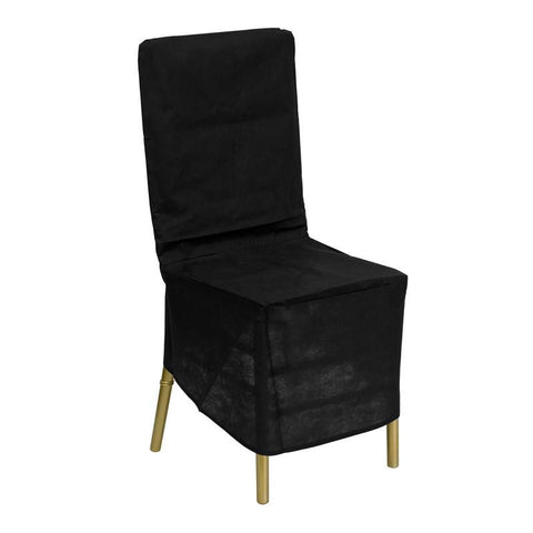 Black Fabric Chiavari Chair Storage Cover LE-COVER-GG by Flash Furniture - Peazz Furniture