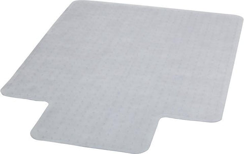 45'' x 53'' Carpet Chairmat with Lip MAT-CM11233FD-GG by Flash Furniture - Peazz Furniture
