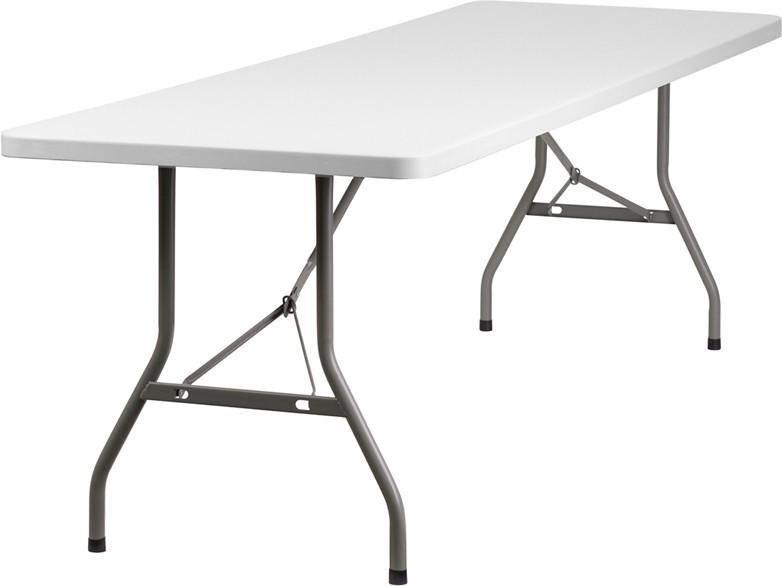 30w X 96l Plastic Folding Table Rb 3096 Gg By Flash Furniture