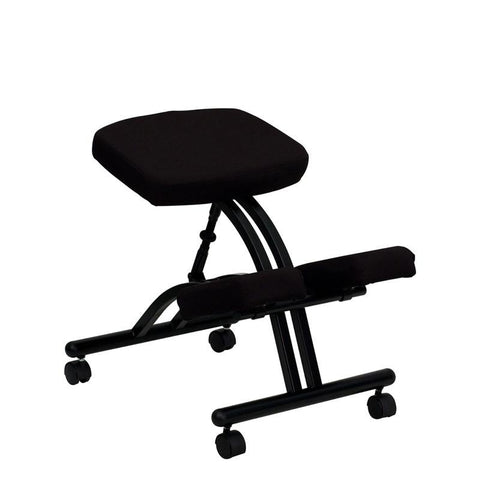 Ergonomic Kneeling Posture Office Chair WL-1420-GG by Flash Furniture - Peazz Furniture