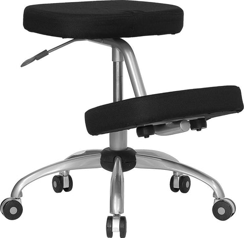Ergonomic Kneeling Posture Office Chair WL-1425-GG by Flash Furniture - Peazz Furniture