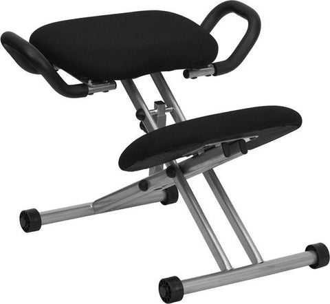 Ergonomic Kneeling Posture Office Chair WL-1429-GG by Flash Furniture - Peazz Furniture