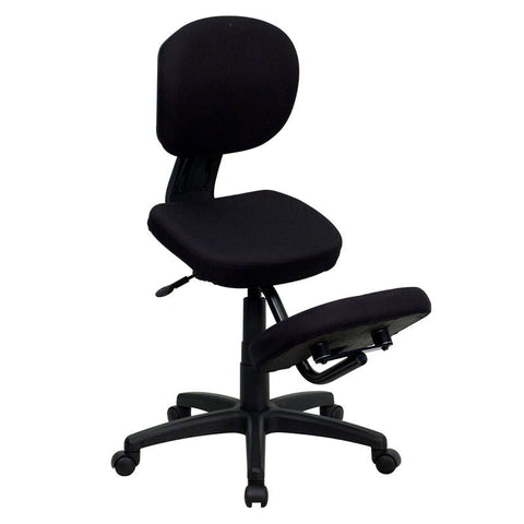 Ergonomic Kneeling Posture Task Chair WL-1430-GG by Flash Furniture - Peazz Furniture