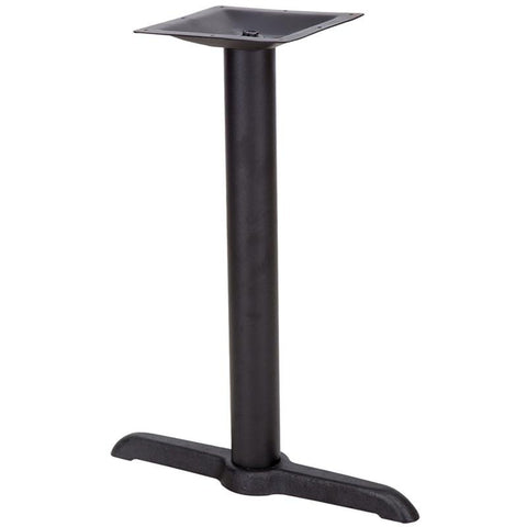 5'' x 22'' Restaurant Table T-Base with 3'' Table Height Column XU-T0522-GG by Flash Furniture - Peazz Furniture