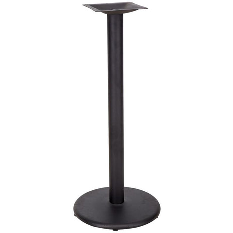 18'' Round Restaurant Table Base with 3'' Bar Height Column XU-TR18-BAR-GG by Flash Furniture - Peazz Furniture