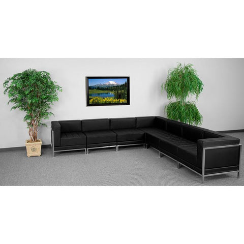 Flash Furniture ZB-IMAG-SECT-SET1-GG HERCULES Imagination Series Sectional Configuration - Peazz.com