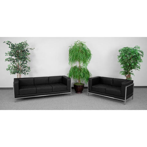 Flash Furniture ZB-IMAG-SET2-GG HERCULES Imagination Series Sofa & Love Seat Set - Peazz Furniture