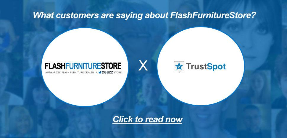 FlashFurnitureStore Custom Testimonial via TrustSpot