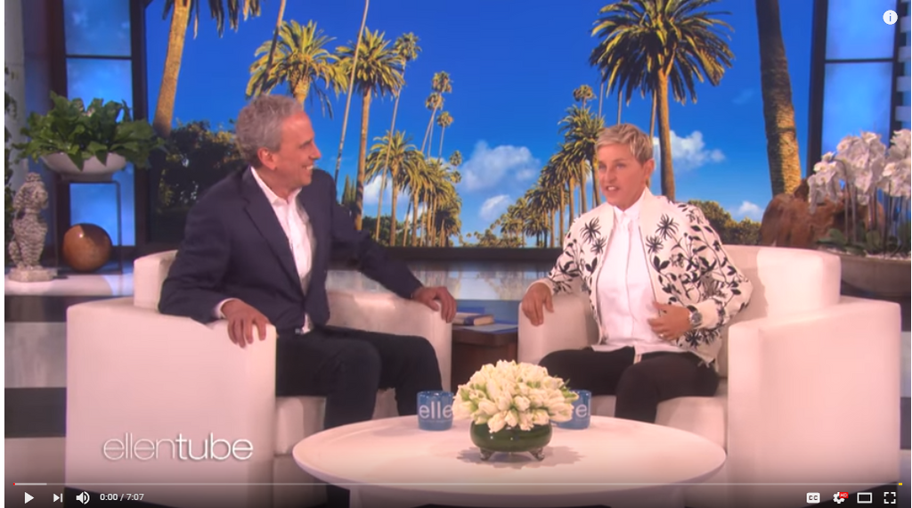 Transcendental Meditation - Ellen Degeneres Discusses The Difference it Makes