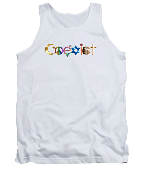 Coexist - Tank Top - Thrive Any Way
