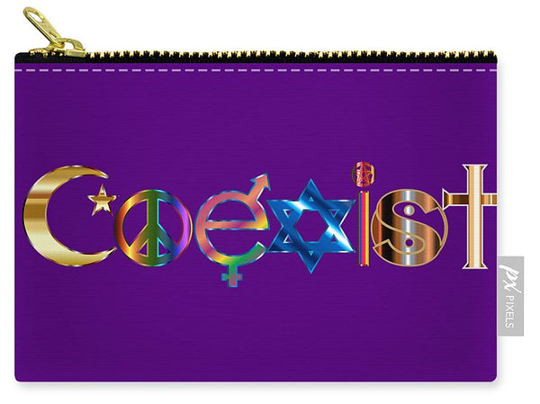 Coexist - Carry-All Pouch