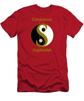 Conscious Capitalist - Men's T-Shirt (Athletic Fit) - Thrive Any Way